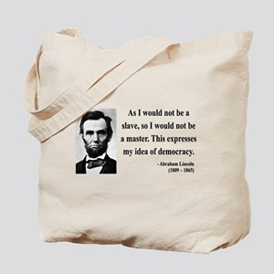 Abraham Lincoln 23 Tote Bag