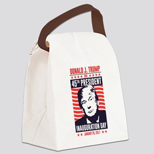 Trump Inauguration Day Canvas Lunch Bag
