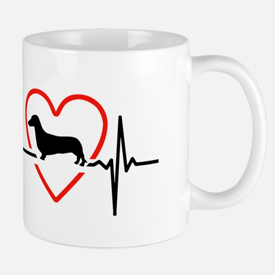 i love Dachshund Mugs