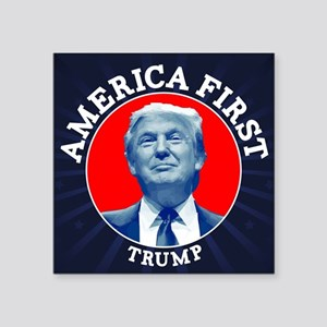 Trump America First Calendar Sticker