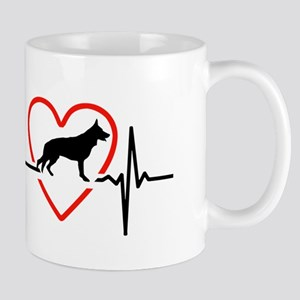 i love German Shepherd Dog Mugs