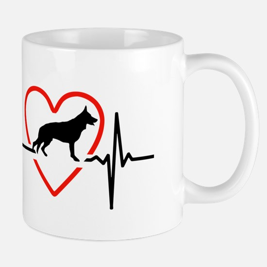 i love German Shepherd Dog Mugs