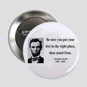"Abraham Lincoln 24 2.25"" Button"