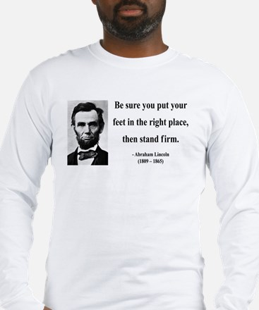 Abraham Lincoln 24 Long Sleeve T-Shirt