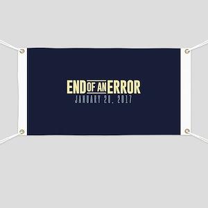 End of an Error Banner