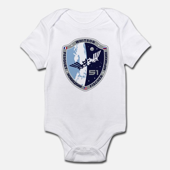 Exp 51 Actual Crew Infant Bodysuit