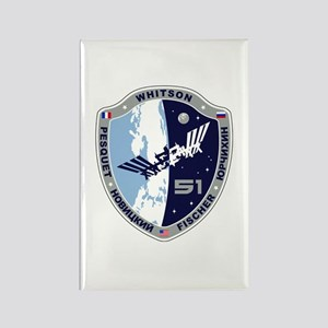 Exp 51 Actual Crew Rectangle Magnet