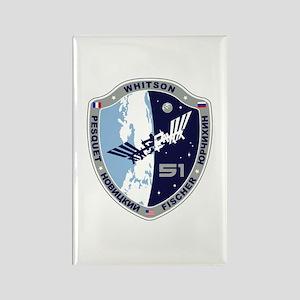 Exp 51 Actual Crew Rectangle Magnet