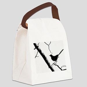 Mocking Bird Canvas Lunch Bag