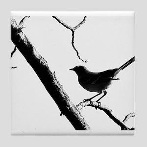 Mocking Bird Tile Coaster