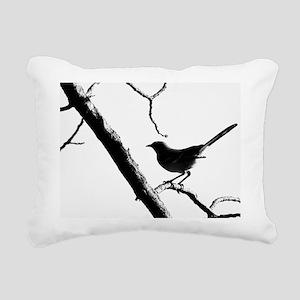 Mocking Bird Rectangular Canvas Pillow