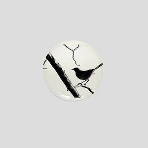 Mocking Bird Mini Button