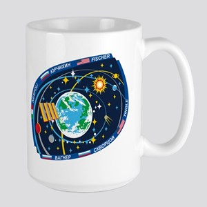 Exp 52, Actual Crew Large Mug Mugs