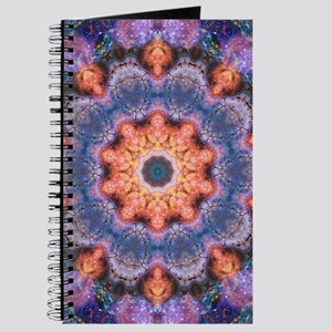 Peach Star Mandala Journal