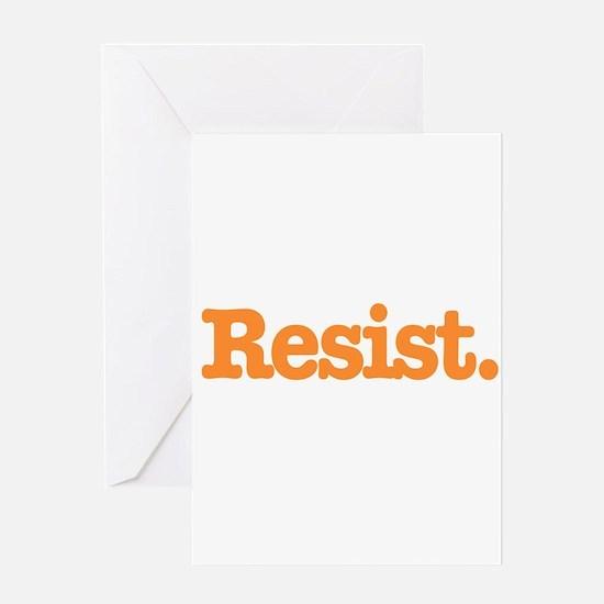 Resist 4 Greeting Cards