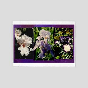 Harvest Moons Iris 5'x7'Area Rug