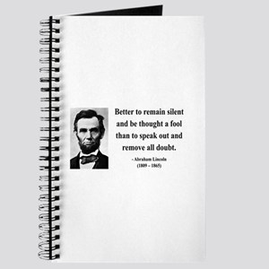 Abraham Lincoln 26 Journal