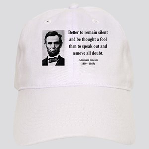 Abraham Lincoln 26 Cap