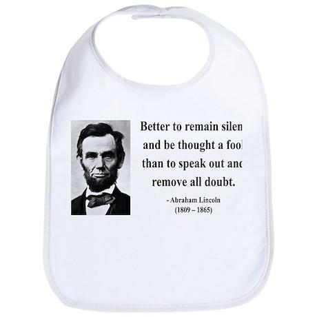 Abraham Lincoln 26 Bib