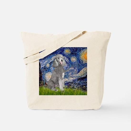 Unique Poodle Tote Bag