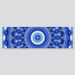 Ocean Mandala Bumper Sticker
