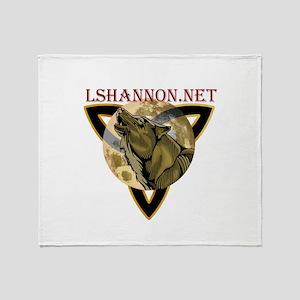 lshannon logo Throw Blanket