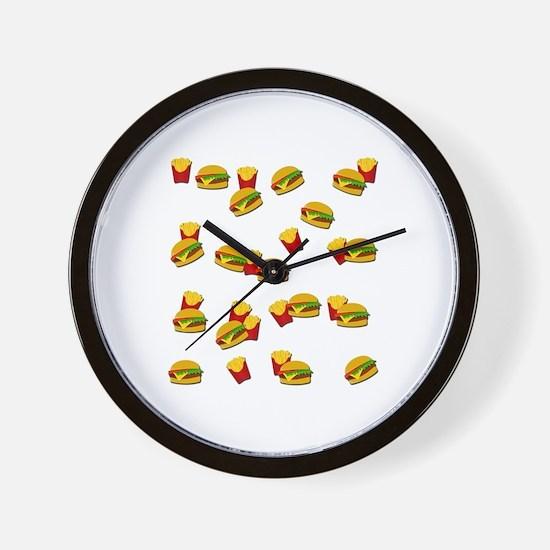Unique Junk Wall Clock