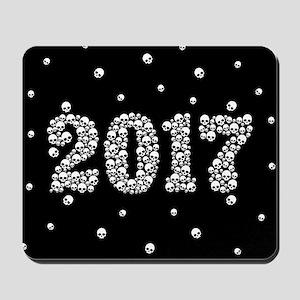 2017 In Skulls Mousepad