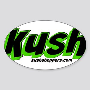 kushblack Sticker