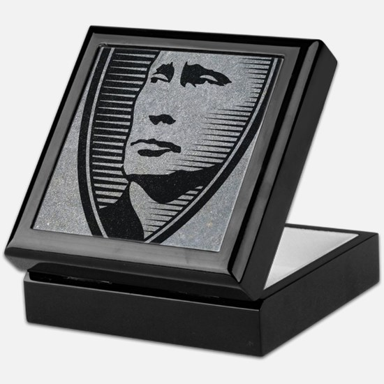 Cool Russian president Keepsake Box