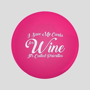 SATC Wine Pink Button