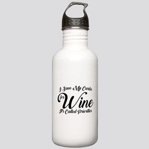 SATC Wine Pink Stainless Water Bottle 1.0L