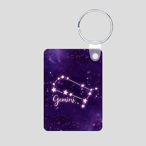 Gemini Zodiac Constellation Keychains