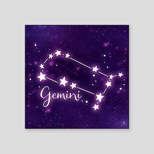 Gemini Zodiac Constellation Sticker