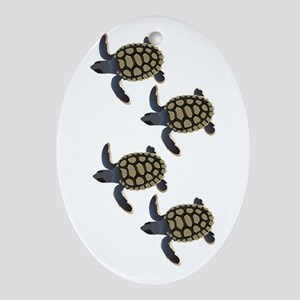 HATCHLINGS Oval Ornament