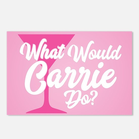 SATC WWCD Pink Postcards (Package of 8)