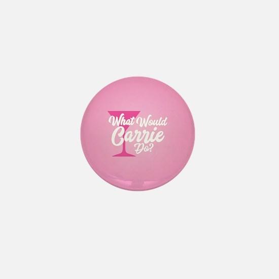 SATC WWCD Pink Mini Button