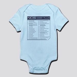 NCIS Gibbs' Rules Infant Bodysuit