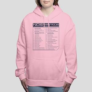 NCIS Gibbs' Rules Women's Hooded Sweatshirt