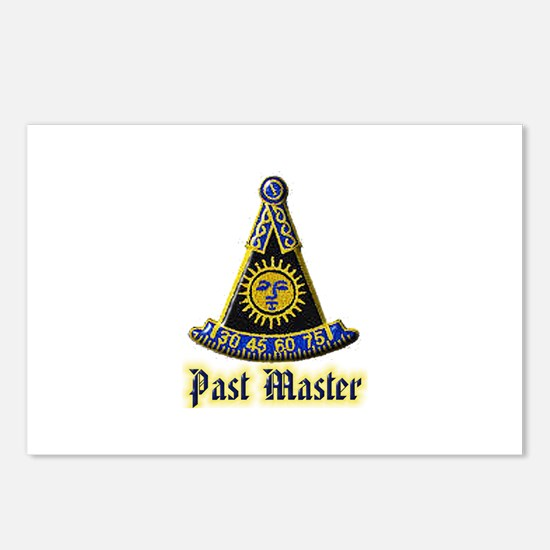 Past Master F & A M Postcards (Package of 8)