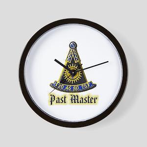 Past Master F & A M Wall Clock