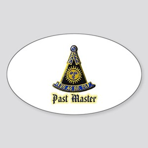Past Master F & A M Sticker
