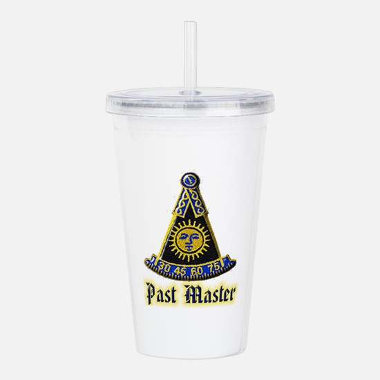 Past Master F & A M Acrylic Double-wall Tumbler