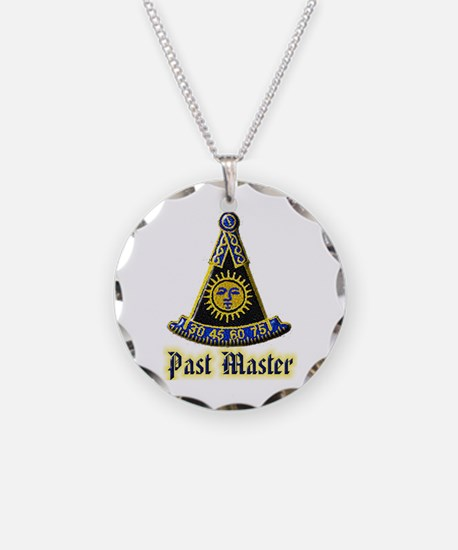 Past Master F & A M Necklace