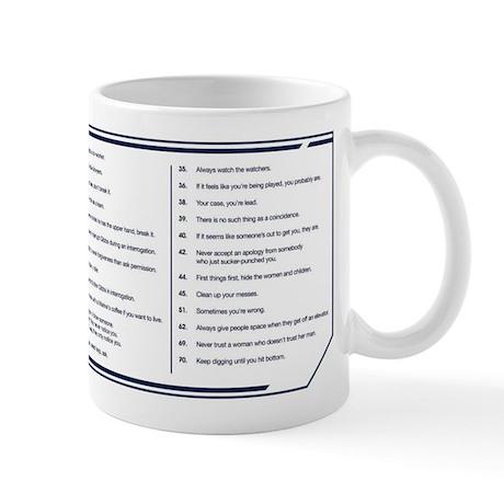 ncis gibbs rules list pdf
