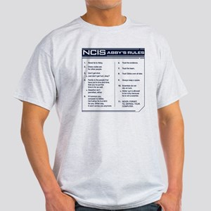 NCIS Abby's Rules Light T-Shirt