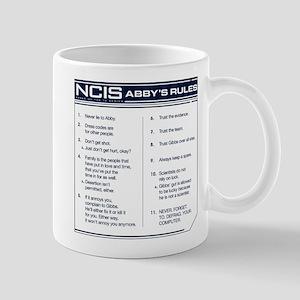 NCIS Abby's Rules Mug