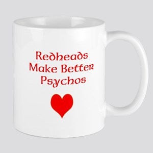 Redheads Make Better Psychos Mug
