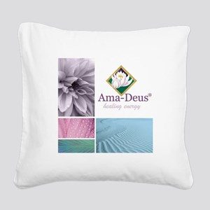 New website Square Canvas Pillow