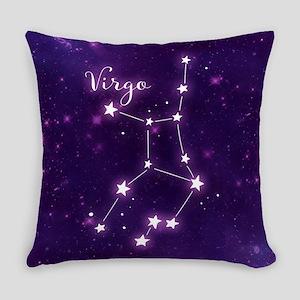Virgo Zodiac Constellation Everyday Pillow
